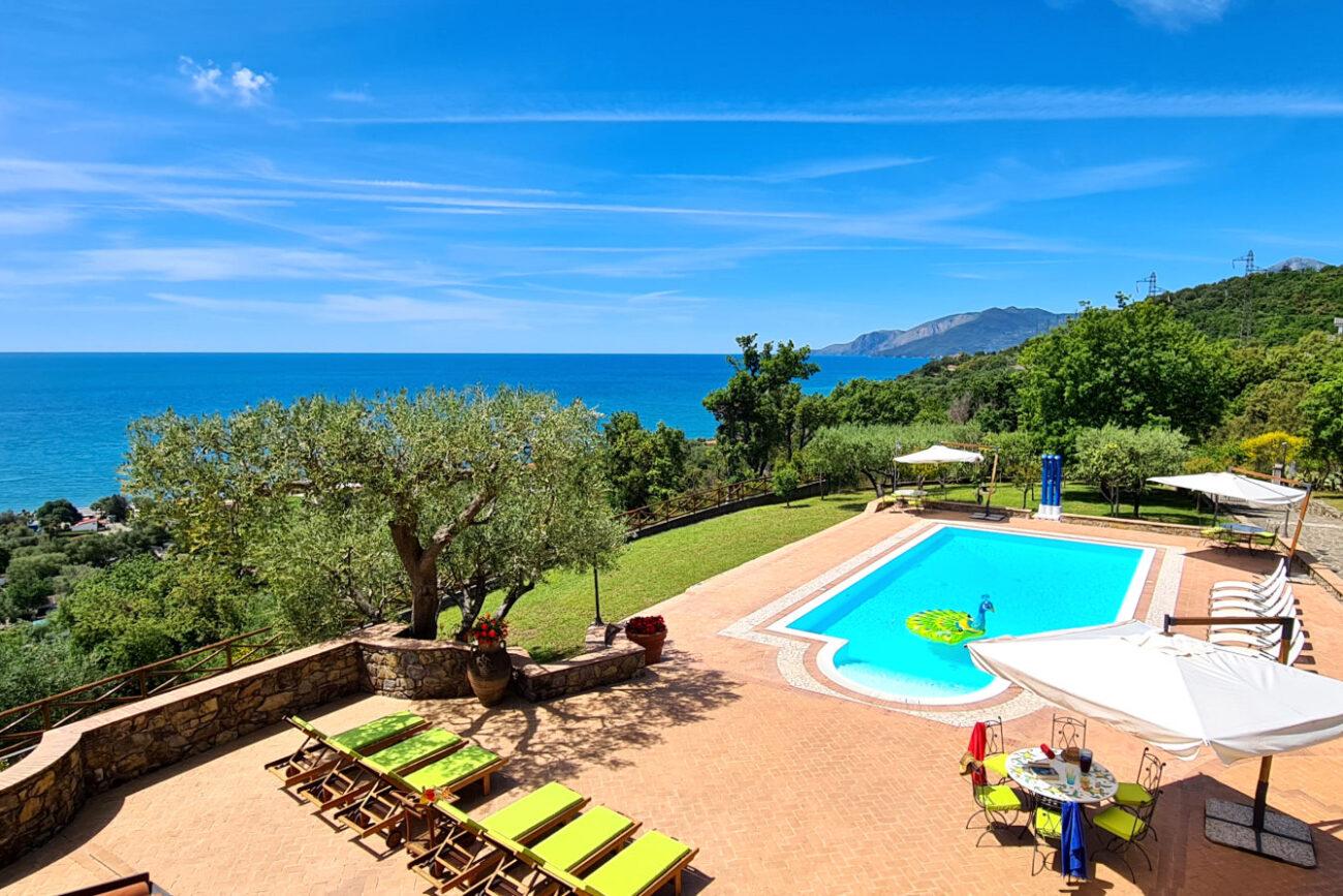 affitto villa in italia amalfi coast cilento