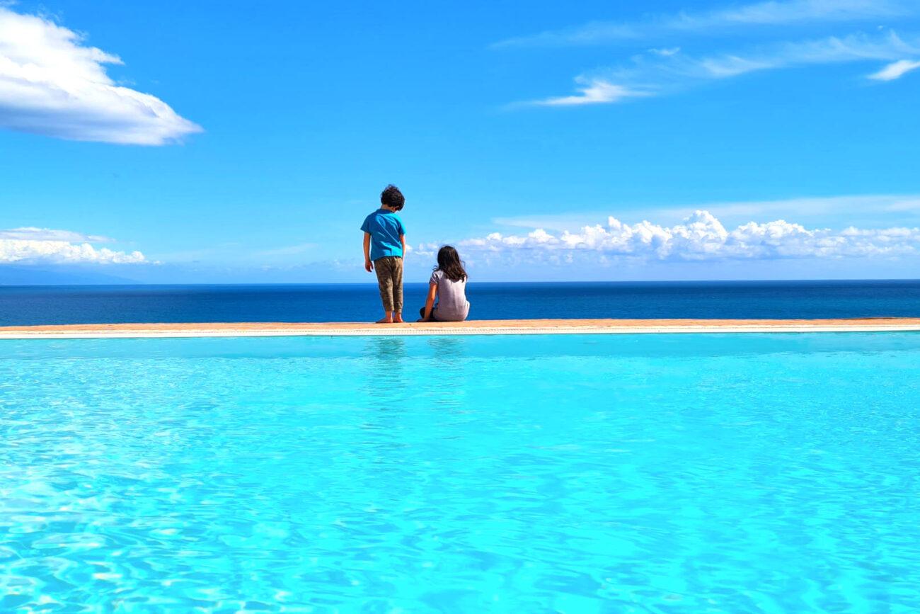 affitto villa con piscina in italia cilento