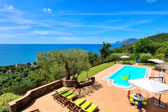 rent villa with pool maratea palinuro scario e villammare